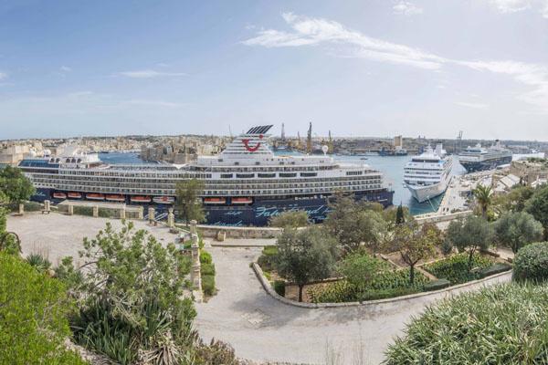 Mein Schiff 3 in Valletta