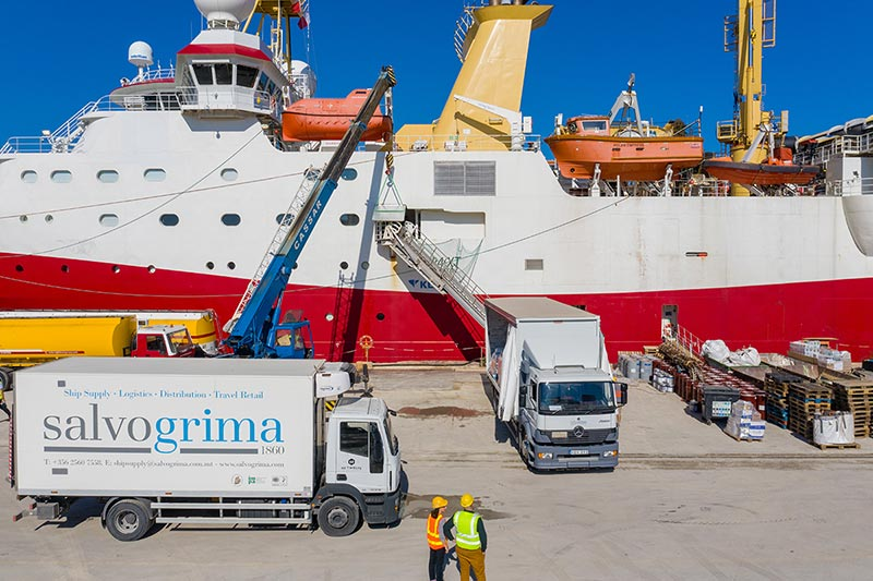 Ship Supply Malta - Chandler service since 1860 | SALVO GRIMA