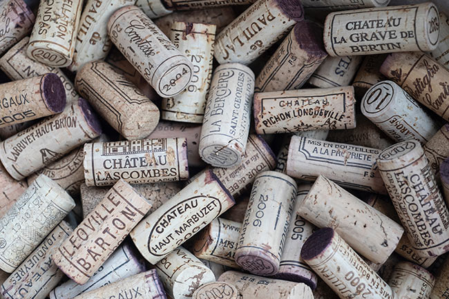 wine corks provisions